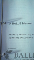 BALLE manual
