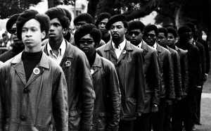 A scene from Stanley Nelson's THE BLACK PANTHERS, opening at Film Forum on September 2. Courtesy of Firelight Films.
