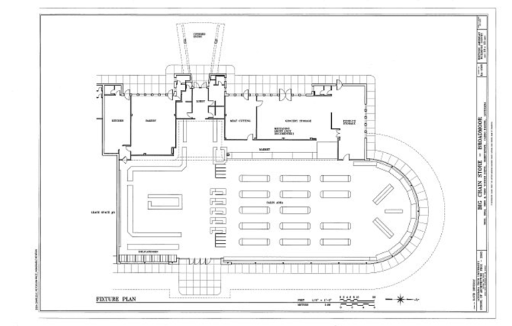 Big Chain Store Schreveport LA floor plan